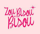 Zou Bisou Bisou — Stockvektor