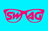 Swag glasses — Stock Vector