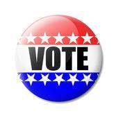 Badge Vote — Stock Vector