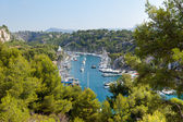 Calanque of Port Miou in Cassis — Stock Photo