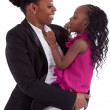 Happy african mother with her daughter — Stock Photo #8625766