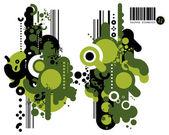 Techno elements ELEVEN — Stock Vector