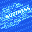 Business related words - Stock Photo