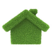 Grass house — Stock Photo