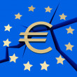 Symbolizes - EuropeDebt Crisis — Stock Photo #8590219