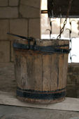 Wooden bucket — Stockfoto
