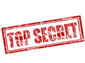 Top secret stamp — Stock Vector