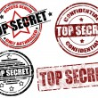 Top secret stamp — Stock Vector #9324066