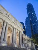 New York Public Library - Manhattan — Stock Photo