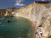 Beach Aerial — Stock Photo