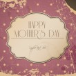 Mothers day card  background - Vettoriali Stock