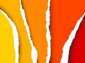 Vektor riva papper - abstrakt bakgrund — Stockvektor