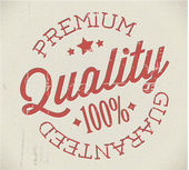 Vector retro premium quality stamp — 图库矢量图片