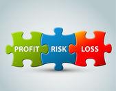 Vektor business modell illustration — Stockvektor