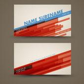 Vecteur vieux style rétro vintage porte-cartes — Vecteur