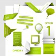 Set of Vector web elements — Stock Vector