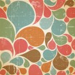 Vector Colorful abstract retro  pattern — Stok Vektör