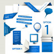 Set of Vector web elements — Stockvektor  #9340078