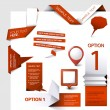 Set of Vector web elements — Stockvector  #9457543