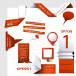 Set of Vector web elements — Stockvektor  #9457543