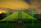 Mound in Dubrovitsy — Stock Photo