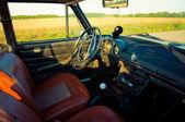 Salon Old Soviet Car — Stock Photo