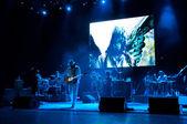Carlos Santana's band — Stock Photo