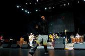 Carlos Santana's band: Andy Vargas — Stock Photo