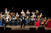 Peter Guth and Strauss Festival Orchestra Vienna — Stock Photo