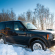 Stock Photo: Land Rover Discovery