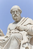 The ancient Greek philosopher Platon — Stock Photo