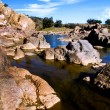 Beautiful river landscape — Stockfoto #8913472