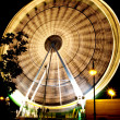 Funfair wheel — Stock Photo