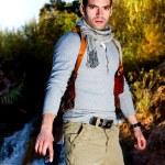 Adventure man — Stock Photo #8969837