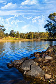 Hermoso lago sereno — Foto de Stock