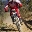 Downhill competition — Stock Photo #9860863