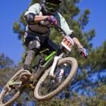 Downhill-Wettbewerb — Stockfoto #9861198