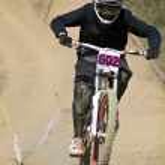 Downhill-Wettbewerb — Stockfoto #9861316