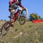 Downhill-Wettbewerb — Stockfoto #9861351