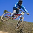 Downhill competition — Stock Photo #9861406