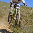 Downhill competition — Stock Photo #9861428