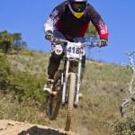 Downhill-Wettbewerb — Stockfoto #9861467