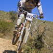Downhill competition — Stock Photo #9861480