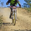 Stock Photo: Downhill competition