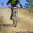 Downhill competition - Stock Photo