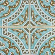 Traditional Portuguese azulejo tile — Stock Photo #9921015