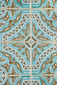 Traditional Portuguese azulejo tile — Stock Photo