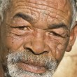 Stock Photo: Old Africblack mwith characterful face