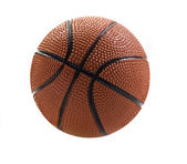 Basket ball isolated on white with space for text — Stock Photo