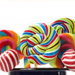 Sugar candy cane lollipop collection — Stock Photo #10517099